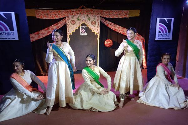 Manjari Kiran showcases the elegance of Kathak on Net-Theat - Jaipur News in Hindi