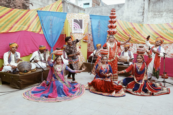 Rajasthani folk culture blossomed on net-theat - Jaipur News in Hindi