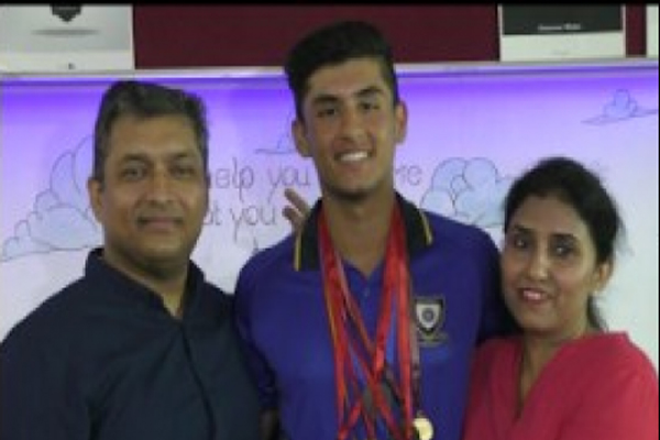 Nihal Vadra becomes third international cricketer of Ludhiana - Ludhiana News in Hindi