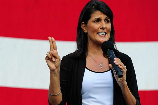 Russia could attack New York by Chemical Weapons: Nikki Haley - World News in Hindi