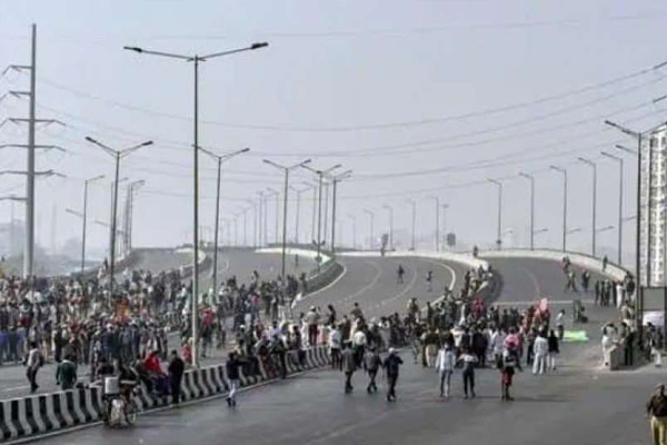 किसान आंदोलन: दिल्ली मेरठ एक्सप्रेस वे का नहीं हो सका 10 महीने से निरीक्षण, आकस्मिक दुर्घटना की बनी आशंका