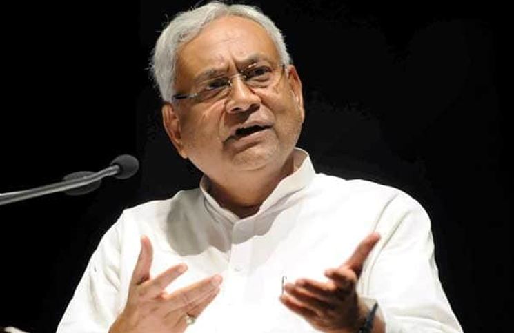Chief Minister Nitish Kumar said, Do not question the action of the army - Patna News in Hindi