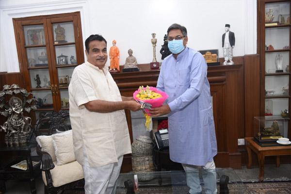 Rajasthan will get great ease with the development of Delhi-Mumbai Expressway- Dr. Satish Poonia - Jaipur News in Hindi