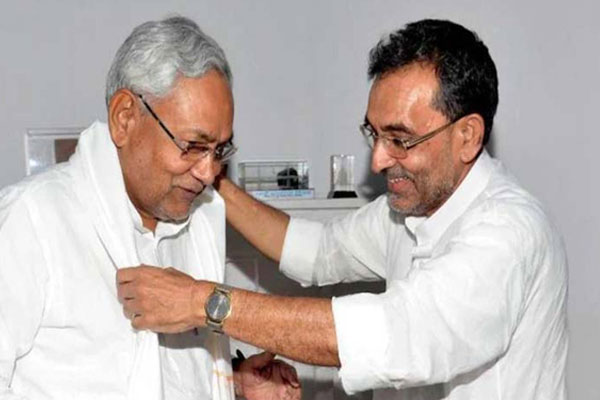 Nitish, Kushwaha challenge for duo Tejashwi! - Patna News in Hindi