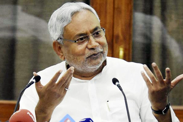 cm nitish kumar first press conference after new government with bjp - Patna News in Hindi
