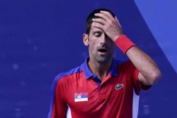 Novak Djokovic loses bronze medal match in men singles - Tennis News in Hindi