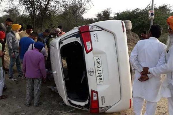 पुलिस कमिश्नर फरीदकोट की गाड़ी ने 2 लोगों को कुचला, एक की मौत
