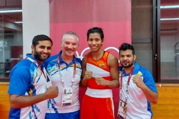 ओलंपिक (मुक्केबाजी) : लवलीना सेमीफाइनल में, कांस्य मिलना तय