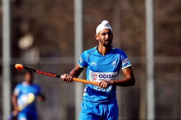 Olympics: Mentally, physically ready for first game, hockey forward Mandeep - Sports News in Hindi