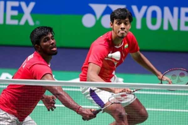 Olympics: Rankireddy-Shetty lose to Indonesian pair in men doubles - Badminton News in Hindi