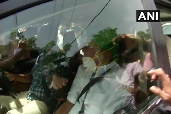 Former Haryana CM Omprakash Chautala released from Tihar Jail - Chandigarh News in Hindi