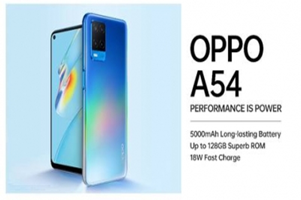 OPPO launches A54 smartphone in 3 variants in India - Gadgets News in Hindi
