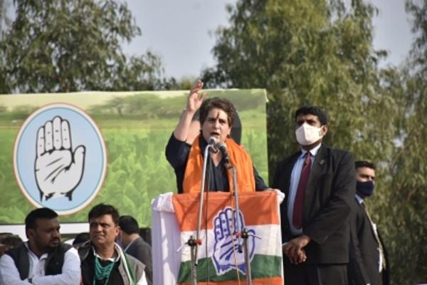 Priyanka Gandhi to address Kisan Panchayat in Meerut on 7 March - Meerut News in Hindi