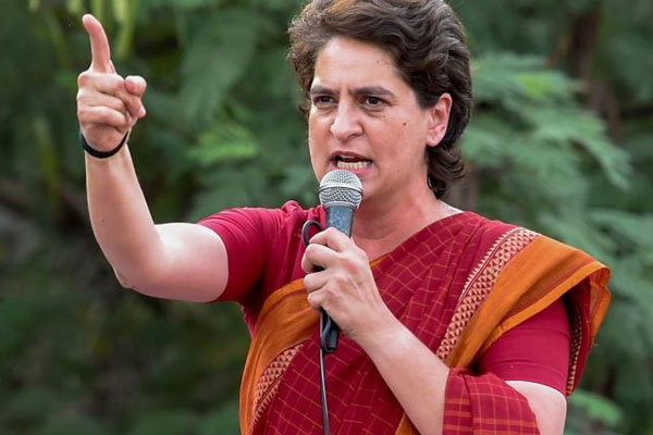 Priyanka slams UP government for less procurement of wheat - Lucknow News in Hindi