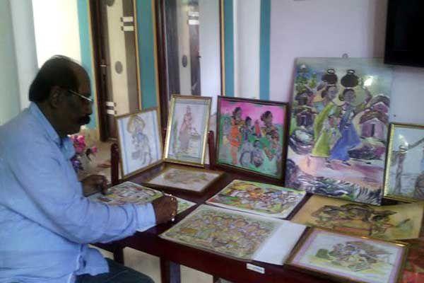Record of the painting on salt grain - Kangra News in Hindi