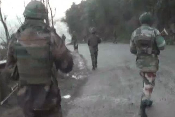 Jammu And Kashmir: Pakistan Violates Ceasefire For Second Time Near LoC Today - India News in Hindi