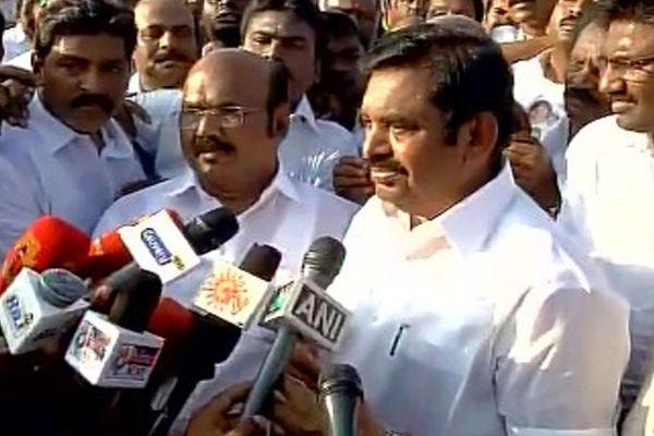 palanisamy wins confidence vote in tamilnadu - Chennai News in Hindi