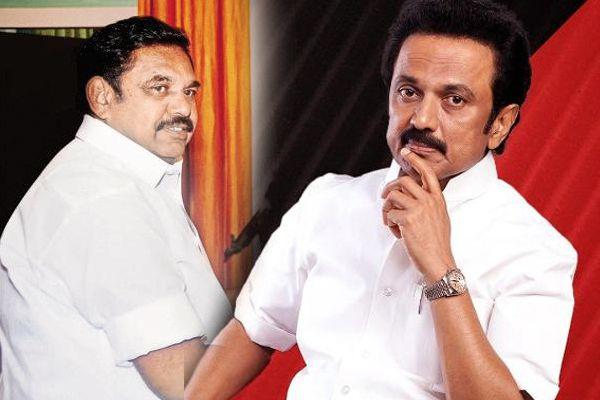 Dont smile at me: M K Stalin to Tamil Nadu CM Edappadi K Palanisamy - Chennai News in Hindi