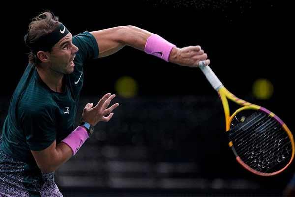 Paris Masters: Nadal in semi-finals, will face Jurev - Tennis News in Hindi
