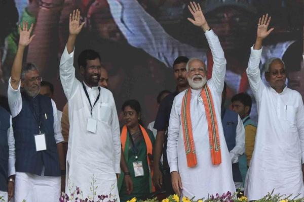 Social engineering of NDA in Bihar - Patna News in Hindi