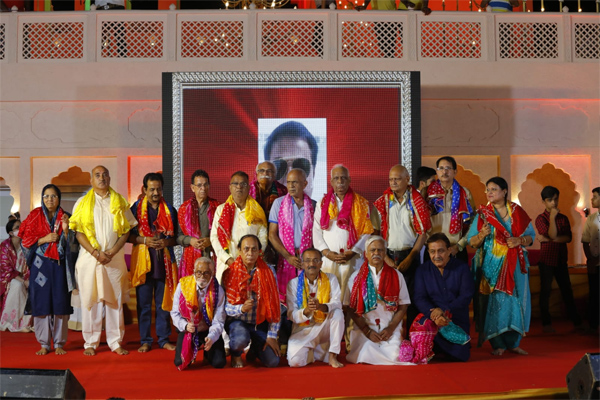 The three-day festival concludes with the completion of Akhand Parayan - Jaipur News in Hindi