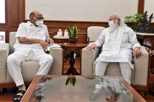 Sharad Pawar meets PM Modi ahead of monsoon session - Delhi News in Hindi