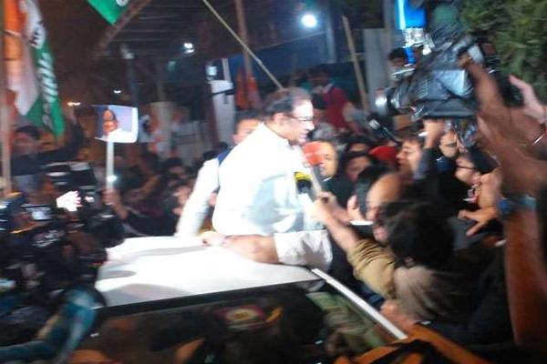 INX Media Cash: Former Finance Minister Chidambaram Released After 106 Days - Delhi News in Hindi