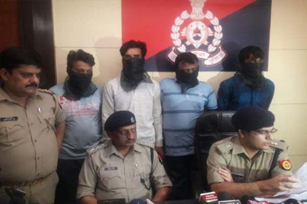police solve case of indrapuram loot in ghaziabad - Ghaziabad News in Hindi