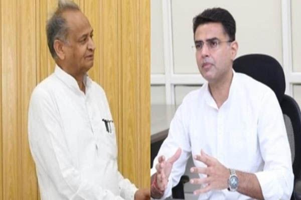 After Gehlot Vs Pilot - Selja, Shivkumar met Rajasthan CM - Jaipur News in Hindi