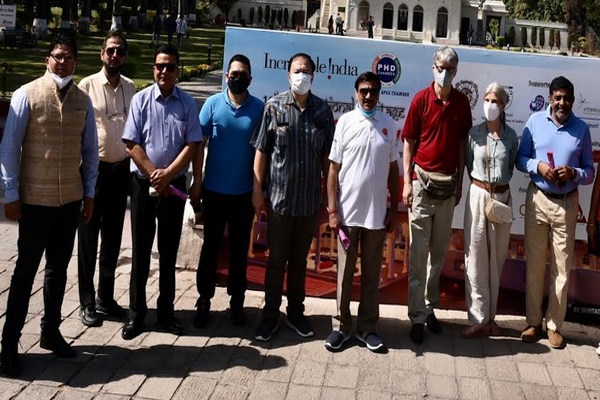 Pinjore reached for ambassador heritage walk of four countries - Panchkula News in Hindi
