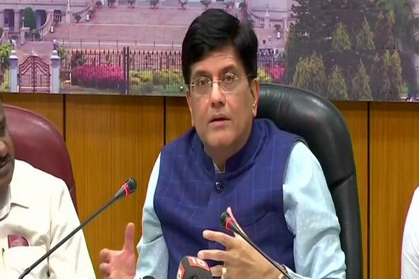Piyush Goyal gets additional charge of Ministry of Food and Consumer - Delhi News in Hindi