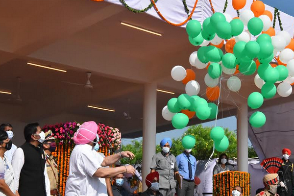Virtual inauguration of two mega projects for Mohali district on the occasion of Independence Day - Mohali News in Hindi