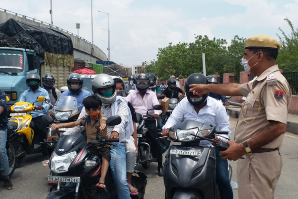 Police Commissionerate Jaipur conducted a grand campaign in public interest - Jaipur News in Hindi