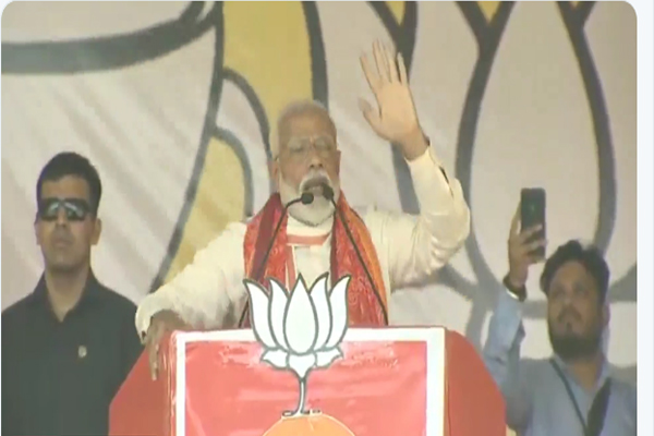 Prime Minister Narendra modi  addresses public meeting at Mirzapur - Mirzapur News in Hindi