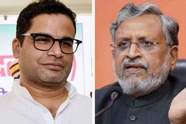 Bihar: Sushil Modi retaliation on Prashant Kishore, said, is strange heresy - Patna News in Hindi