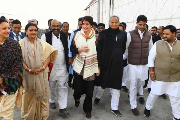 Priyanka Gandhi will be the Rajya Sabha candidate of Congress from Rajasthan - Jaipur News in Hindi