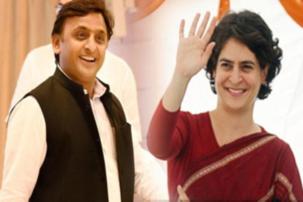 UP Election: Priyanka Gandhi role in SP Congress alliance - Lucknow News in Hindi