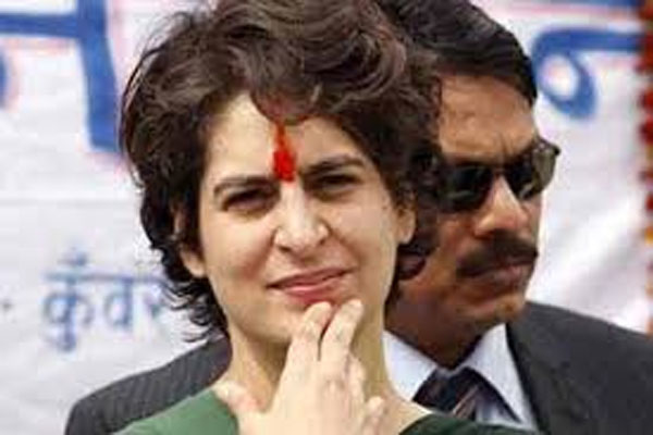 Priyanka Gandhi sent home food for Congress MPs at the protest venue - Delhi News in Hindi