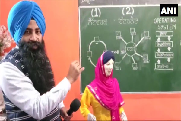 Punjabi speaking and understanding robot ready - Jalandhar News in Hindi