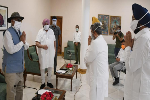 Unrest can spread in Punjab due to passage of Agriculture Bill - Captain Amarinder Singh - Punjab-Chandigarh News in Hindi