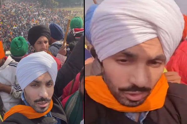Punjabi actor summoned by NIA posts live video from Red Fort hoisting pennant - India News in Hindi