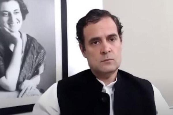 Hathras gang rape: Rahul Gandhi attacked Yogi government, said - Jungle Raj killed another daughter - Hathras News in Hindi