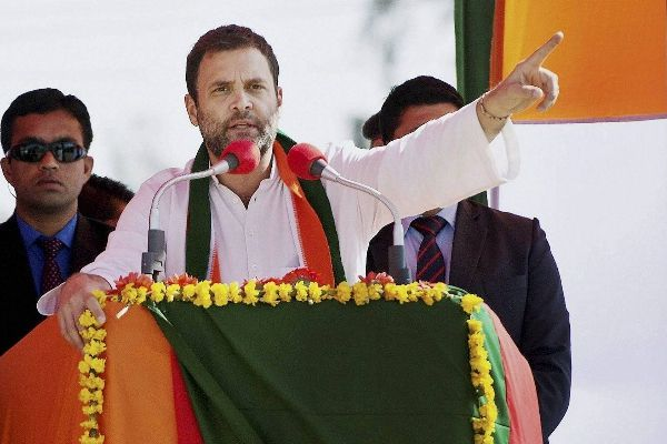 Rahul Gandhi targets PM Modi in Rae Bareli in UP polls 2017 - Lucknow News in Hindi