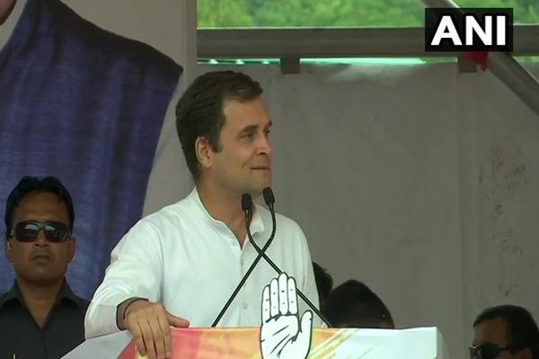 Congress President RahulGandhi addresses public meeting in Solan, Himachal Pradesh - Solan News in Hindi