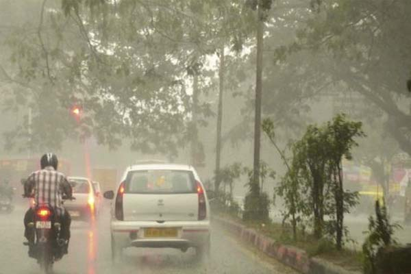 relief with rain in agra - Agra News in Hindi