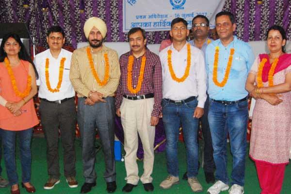 Rajesh Bakshi was elected IPH Engineer Union Territory - Mandi News in Hindi