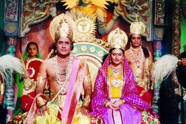 When Javadekar opened the TV to watch Ramayana - Television News in Hindi
