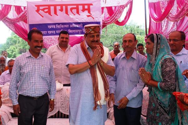शहरों के साथ गांवों में भी मजबूत होंगी स्वास्थ्य सुविधाएं