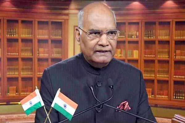 कोरोना की दूसरी लहर को नियंत्रित करने में आयुष की महत्वपूर्ण भूमिका: राष्ट्रपति रामनाथ कोविंद