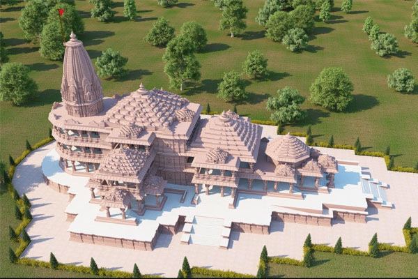 एटा में राम मंदिर के लिए बन रहा है 2,100 किलोग्राम के घंटा